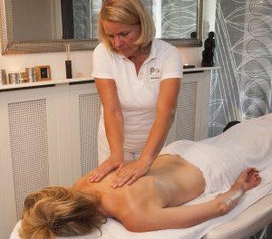 pauze massage lounge ontspanningsmassage